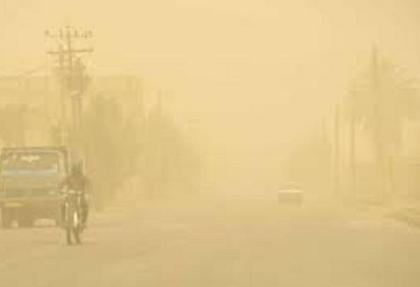 سرعت طوفان شن در زابل: ۱۰۸ کیلومتر بر ساعت
