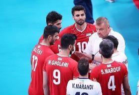 دومین شکست والیبال ایران در المپیک برابر ایتالیا | کار صعود به بازی با ژاپن کشیده شد