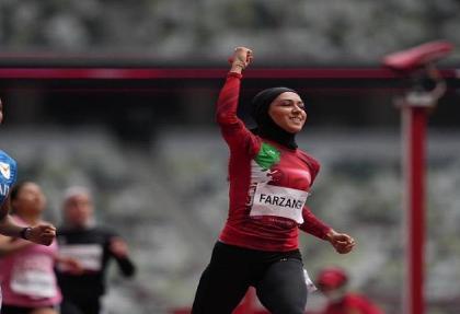 دختر ایرانی در ۱۰۰ متر المپیک بین ۵۴ نفر پنجاهم شد
