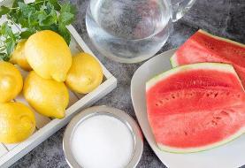طرز تهیه لیموناد هندوانه | چه طعمهایی با هندوانه جور درمیآید؟