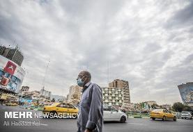 هوای تهران در شرایط قابل قبول قرار دارد