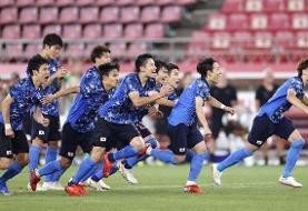 صعود برزیل و ژاپن به نیمه نهایی فوتبال المپیک