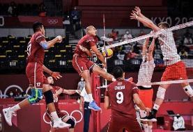 والیبال المپیک توکیو | صدرنشینی لهستان با عبور از کانادا | شانس سومی از بینایران و ژاپن