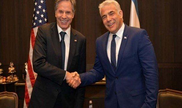 گفتوگوی لاپید با بلینکن؛ اسرائیل خواهان پاسخ بینالمللی علیه حمله به ...