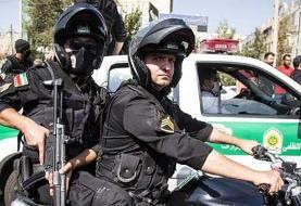 دستبند پلیس امنیت بر دستان ۳ شرور / پایان پرونده تخریب خودروها در ۷ ساعت