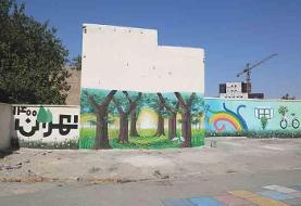 حذف نقاط بیدفاع شهری محله قلمستان