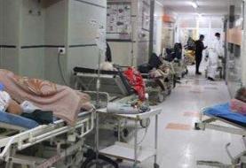 تخت خالی نیست! / بستری بیماران کرونایی روی صندلی!