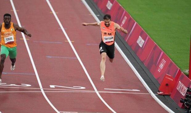 حسن تفتیان از صعود به نیمه نهایی دو ۱۰۰ متر بازماند
