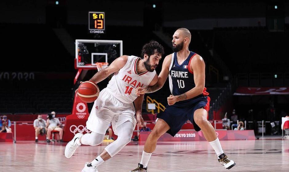 سومین شکست تیمملی بسکتبال در المپیک مقابل فرانسه