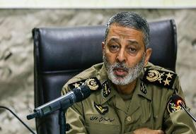 ارتش دفاع از انقلاب و اسلام را وظیفه خود میداند