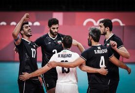شکست ایران مقابل ژاپن / خداحافظی تلخ والیبال ایران با المپیک توکیو