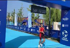 درخشش ورزشکار جوان ایرانی در کاپ اروپایی ترایاتلون