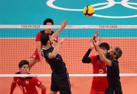 خداحافظی تیم ملی والیبال ایران با المپیک توکیو
