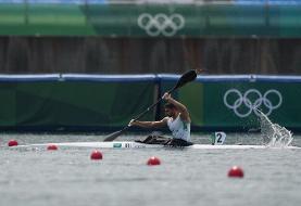 المپیک توکیو | صعود قایقران ایران به مرحله یک چهارم