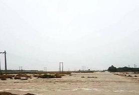سیل در الموت شرقی قربانی گرفت