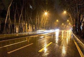 رگبار و رعد و برق و وزش باد شدید در بیشتر استانهای کشور
