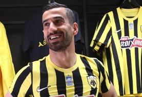 احسان حاج صفی رسماً به آاِک یونان پیوست