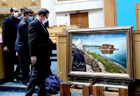 تصاویر | مراسم خداحافظی رئیس جمهور و وزیران