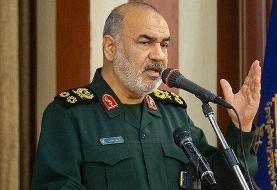 سردار سلامی:خروج آمریکا از افغانستان مفتضحانه بود/توازن قدرت تغییر کرده است