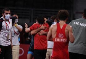 برادر کوچکتر شگفتیساز کشتی فرنگی ایران شد/ محمدرضا گرایی به فینال المپیک رسید