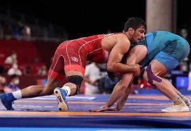 طوفان حسن یزدانی در بازی اول المپیک