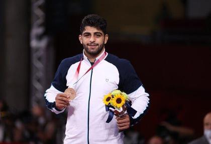 نخستین مدال برای کشتی فرنگی: ساروی نخستین برنز کشتی ایران را دشت کرد