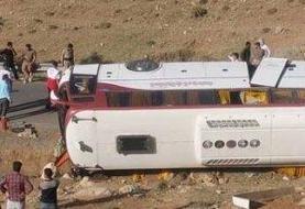 درخواست از قوه قضا برای مجازات مسببان حادثه واژگونی اتوبوس خبرنگاران