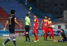 انصاری و احمدزاده محرومان فولاد در نیمه نهایی جام حذفی فوتبال