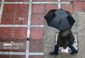 بارش شدید باران و کاهش دما در نیمه شمالی کشور/ ارتفاعات البرز برفی میشود