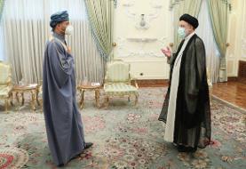 دیدار وزیر خارجه عمان با رئیسی
