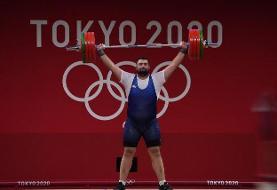 علی داودی در یکضرب دوم شد/ رکوردشکنی حیرت انگیز غول گرجی در المپیک + فیلم