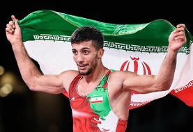 محمدرضا گرایی قهرمان المپیک شد + فیلم