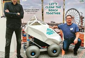 پاکسازی سواحل از ته سیگار با رباتی مجهز به هوش مصنوعی (+فیلم و عکس)