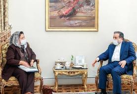 دیدار مدیر روابط سیاسی وزارت خارجه دولت بولیوی با عراقچی