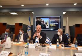 تصویر سردار حاجی زاده در اتاق جلسه وزارت خارجه اسراییل (عکس)
