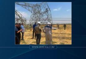 وزارت برق عراق: حمله خرابکارانه به خطوط انتقال برق در بغداد و صلاحالدین