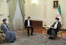 مناسبات تهران و مسقط فراتر از مناسبات دو همسایه است