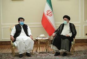 رئیسی با رئیس مجلس سنای پاکستان دیدار کرد