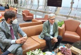 ورود مدیرکل سیاسی - امنیتی وزارت خارجه ایتالیا به تهران