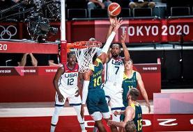 آمریکا نخستین فینالیست بسکتبال المپیک