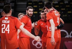 روسیه با شکست برزیل فینالیست والیبال المپیک شد