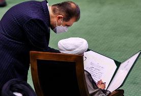 امضای سوگندنامه رییس جمهوری توسط آیت الله جنتی و اژه ای