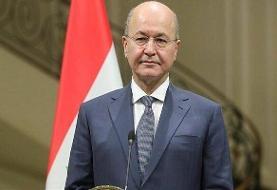 رئیسجمهور عراق وارد تهران شد