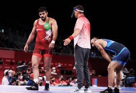 حذف زودهنگام ملیپوش ایران از المپیک/ تانک روس برنده محمدیان را ۱۰-۰ کرد