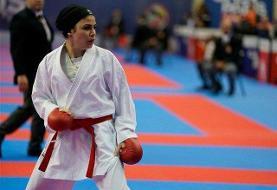 کاراته المپیک توکیو؛ درخشش سارا بهمنیار با شکست قهرمان جهان