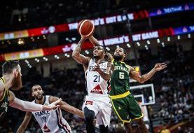 تقابل همگروههای ایران در فینال بسکتبال المپیک/ پیروزی نفسگیر فرانسه مقابل اسلوونی