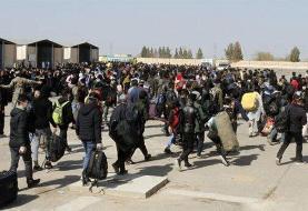 ببینید | سرازیر شدن مهاجران افغانستانی به سمت ایران