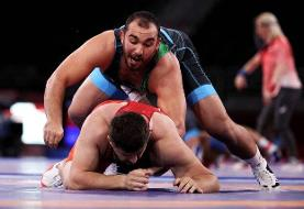 ششمین مدال ایران در المپیک ۲۰۲۰ توکیو / امیرحسین زارع برنز گرفت