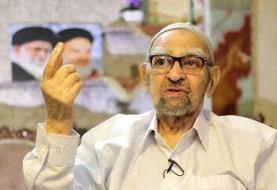 پدر حسن رحیمپور ازغدی درگذشت