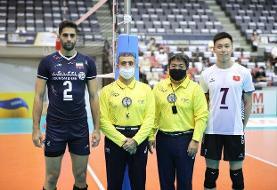 واکنش کنفدراسیون والیبال آسیا به پیروزی والیبال ایران/ درخشش کاظمی، صالحی و توخته در بازی اول